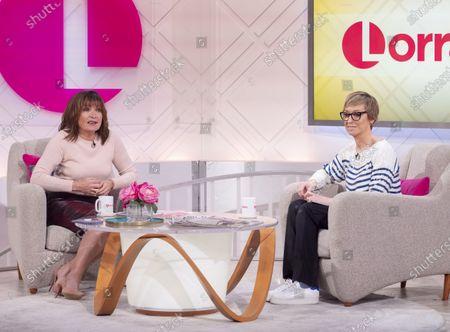 Lorraine Kelly and Jo Elvin