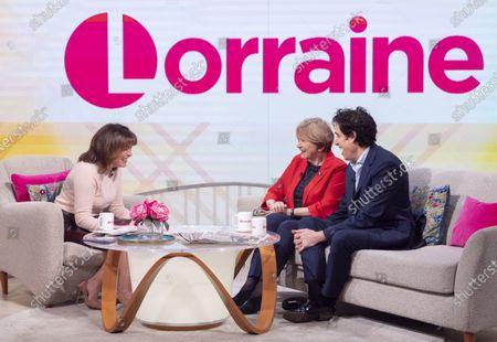 Stock Photo of Lorraine Kelly, Joan Bakewell and Stephen Mangan