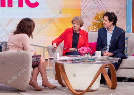 Lorraine Kelly, Joan Bakewell and Stephen Mangan
