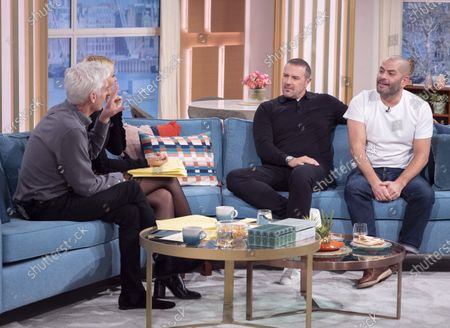 Editorial image of 'This Morning' TV show, London, UK - 21 Jan 2020