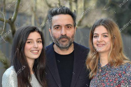 Saverio Costanzo, Gaia Girace and Margherita Mazzucco at the season 2 photocall