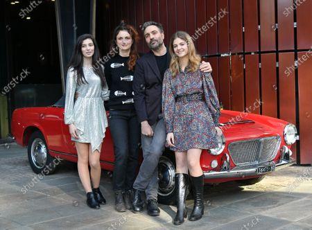Alice Rohrwacher, Saverio Costanzo, Gaia Girace and Margherita Mazzucco at the season 2 photocall