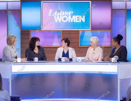 Ruth Langsford, Coleen Nolan, Denise Nolan, Denise Welch and Brenda Edwards