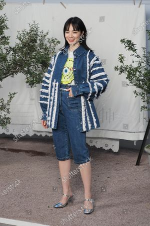 Editorial image of Chanel show, Front Row, Spring Summer 2020, Haute Couture Fashion Week, Paris, France - 21 Jan 2020