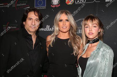 Stock Picture of Vincent Spano, Tiziana Rocca, Natali Yura