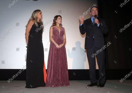 Tiziana Rocca, Claudia Gerini, William Baldwin