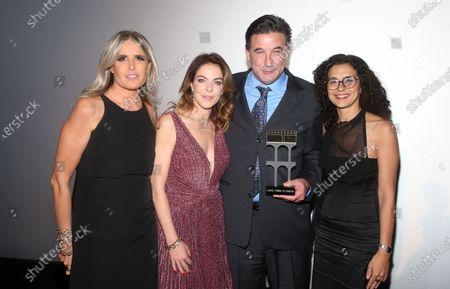 Tiziana Rocca, Claudia Gerini, William Baldwin, Guisi Alessio