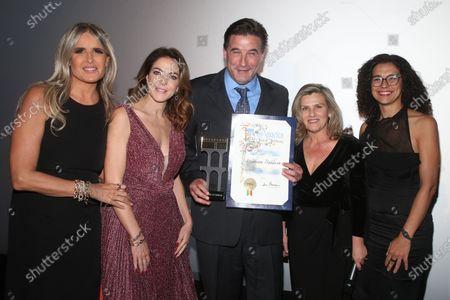Stock Photo of Tiziana Rocca, Claudia Gerini, William Baldwin, Guisi Alessio, Valeria Rumori