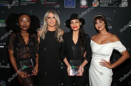 Nana Ghana, Tiziana Rocca, Rosario Dawson, Jackie Cruz