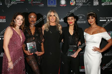 Claudia Gerini, Nana Ghana, Tiziana Rocca, Rosario Dawson, Jackie Cruz