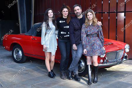 Gaia Girace, Alice Rorhwacher, Saverio Costanzo and Margherita Mazzucco at the season 2 photocall