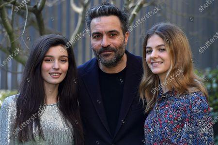 Gaia Girace, Saverio Costanzo and Margherita Mazzucco at the season 2 photocall