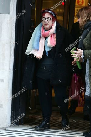 Editorial photo of Jo Brand out and about, London, UK - 21 Jan 2020