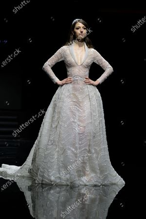 Editorial picture of Oriental Fashion show, Runway, Spring Summer 2020, Haute Couture Fashion Week, Paris, France - 20 Jan 2020