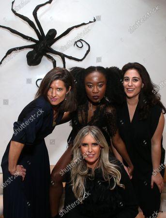 Chelsea Winstanley, Nana Ghana, Tiziana Rocca, Sophia Kiapos