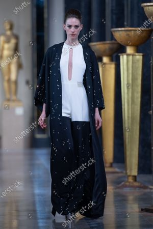 Stephane Rolland Show Runway Haute Couture Fashion Stock Photos Exclusive Shutterstock