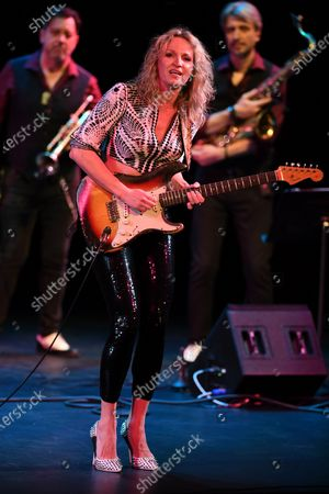 Editorial image of Ana Popovic in concert at The Broward Center for the Performing Arts, Florida, USA - 18 Jan 2020