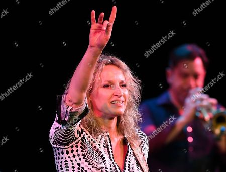 Editorial photo of Ana Popovic in concert at The Broward Center for the Performing Arts, Florida, USA - 18 Jan 2020