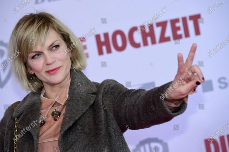 Anna Loos attends  the red carpet of the film premiere for 'Die Hochzeit' (lit.: The Wedding) at the Zoo Palast cinema in Berlin, Germany, 21 January 2020. The movie will be screened German cinemas from 23 January 2020.