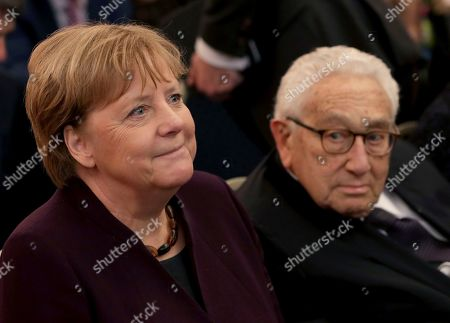 Editorial image of Kissinger Prize, Berlin, Germany - 21 Jan 2020
