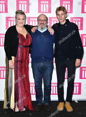Stock Picture of Daisy May Cooper, Paul Chahidi and Charlie Cooper