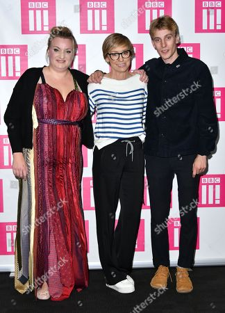 Stock Picture of Daisy May Cooper, Jo Elvin and Charlie Cooper