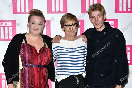 Daisy May Cooper, Jo Elvin and Charlie Cooper