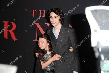 Brooklynn Prince and Finn Wolfhard