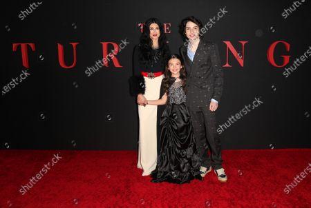 Floria Sigismondi, Brooklynn Prince and Finn Wolfhard