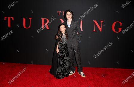 Editorial photo of 'The Turning' film premiere, Arrivals, TCL Chinese Theatre, Los Angeles, USA - 21 Jan 2020