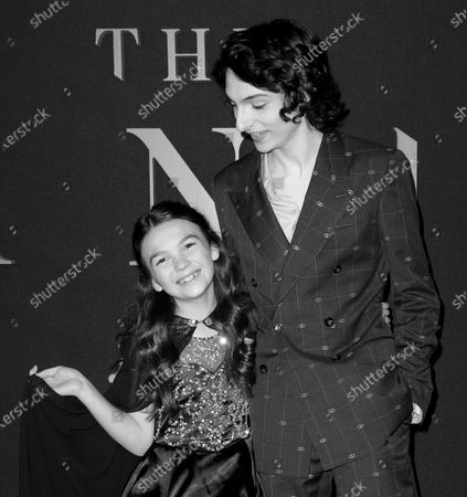 Stock Picture of Brooklynn Prince and Finn Wolfhard