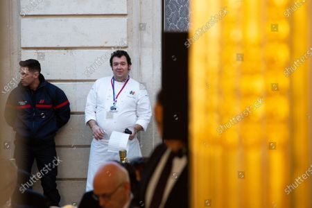 Chef of the Elysee Palace, Guillaume Gomez