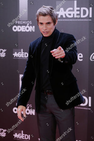 Editorial photo of Odeon Awards, Madrid, Spain - 20 Jan 2020