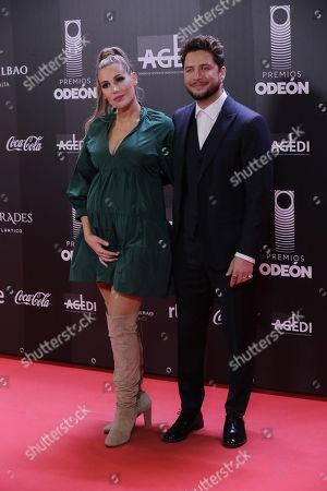 Stock Image of Manuel Carrasco and Almudena Navalon