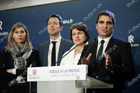Virginie Duby-Muller, Guillaume Peltier, Annie Genevard and Christian Jacob