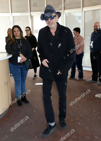 Stock Image of Tim Burton book signing in conjuction with the brand new exhibition cagalogue 'Lost Vegas: Tim Burton '