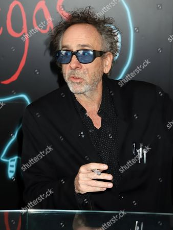 Tim Burton book signing in conjuction with the brand new exhibition cagalogue 'Lost Vegas: Tim Burton '