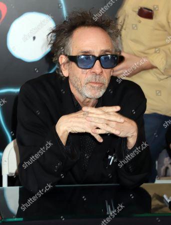Editorial picture of 'Lost Vegas: Tim Burton' book signing, The Neon Museum, Las Vegas, USA - 21 Jan 2020