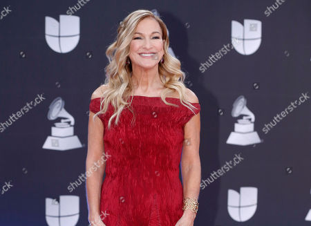Grammys CEO Deborah Dugan at the 20th Latin Grammy Awards in Las Vegas. Dugan has fired back at the Recording Academy with a complaint claiming she was retaliated against after reporting she was subjected to sexual harassment and gender discrimination during her six-month tenure. Lawyers for Dugan, who the academy placed on administrative leave last week, filed a discrimination case with the Equal Employment Opportunity Commission on Tuesday. In the complaint, she claims she was subjected to sexual harassment from the academy's general counsel