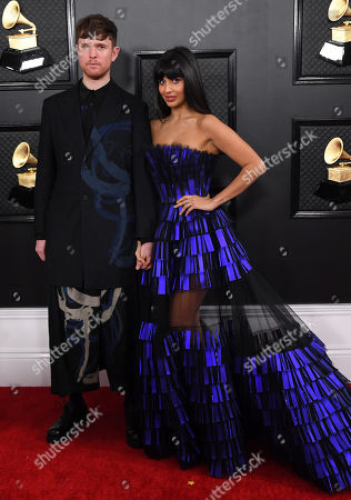 Jameela Jamil and James Blake