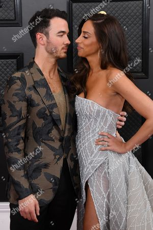 Stock Image of Kevin Jonas and Danielle Deleasa