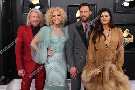 Little Big Town - Phillip Sweet, Kimberly Schlapman, Jimi Westbrook and Karen Fairchild