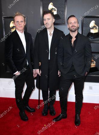 Tyrone Lindqvist, Jon George and James Hunt of Rüfüs Du Sol