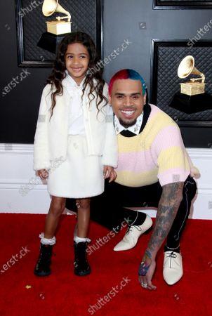 Royalty Brown and Chris Brown