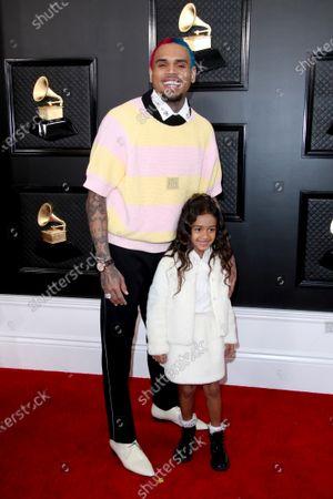 Chris Brown and Royalty Brown