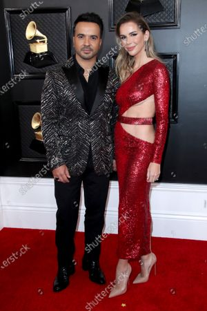 Stock Picture of Luis Fonsi and Agueda Lopez