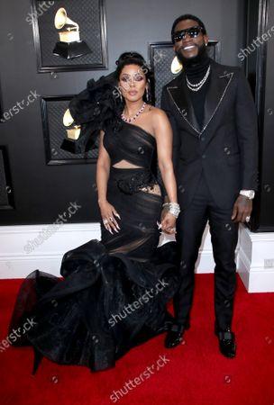 Stock Photo of Keyshia Ka'oir and Gucci Mane