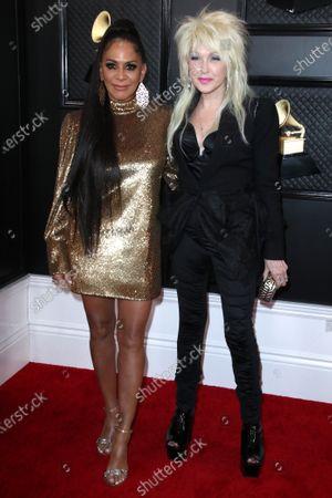 Sheila E. and Cyndi Lauper