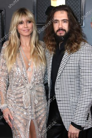 Stock Picture of Heidi Klum and Tom Kaulitz