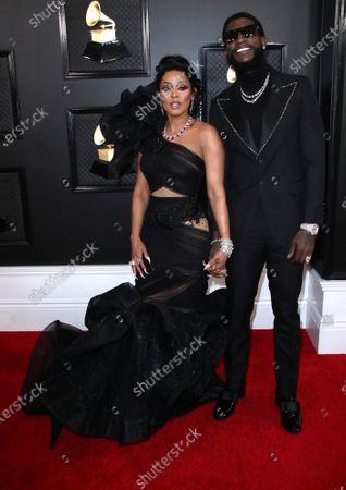 Stock Picture of Keyshia Ka'oir and Gucci Mane